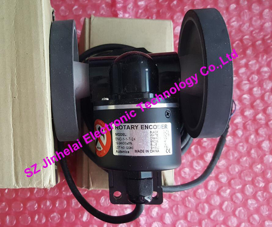 100% Authentic original ENC-1-1-T-24 Autonics Roller incremental rotary encoder new and original mutoh vj 1604 vj 1204 pf enc a0 assy printers