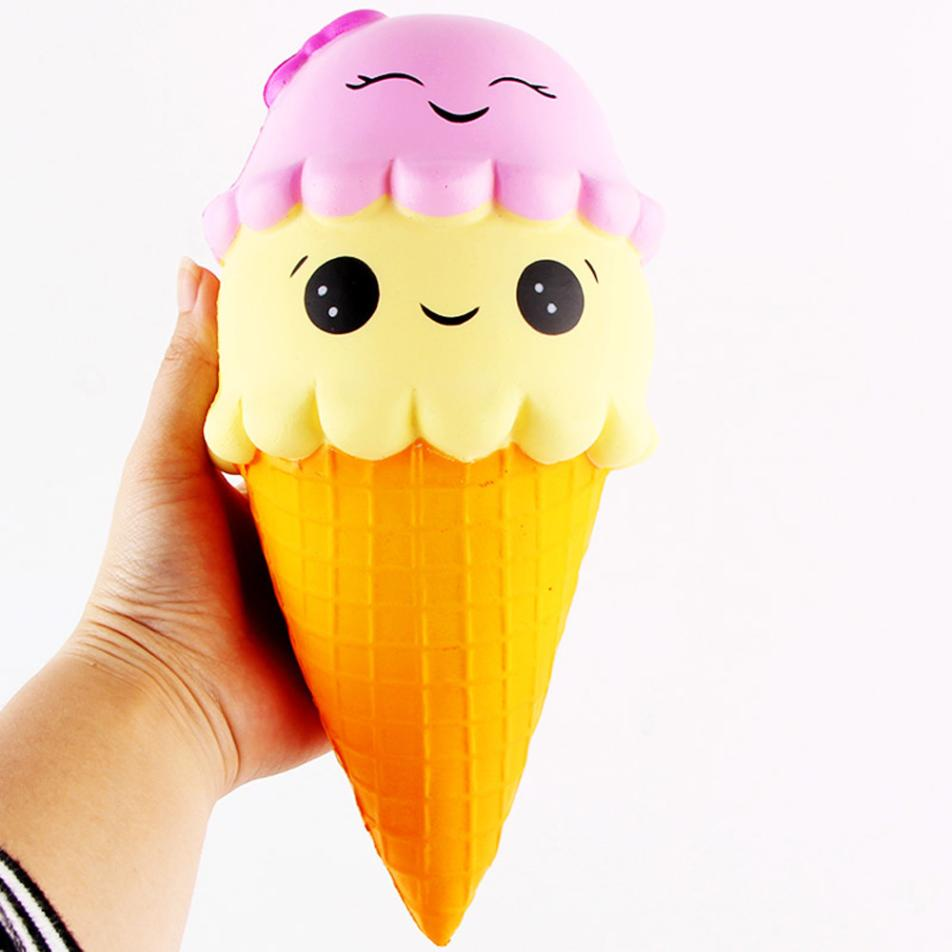 ISHOWTIENDA Cute Gift Exquisite Fun Ice Cream Scented Squishy Charm Slow Rising Simulation Kid Toy drop shipping funny prank #20