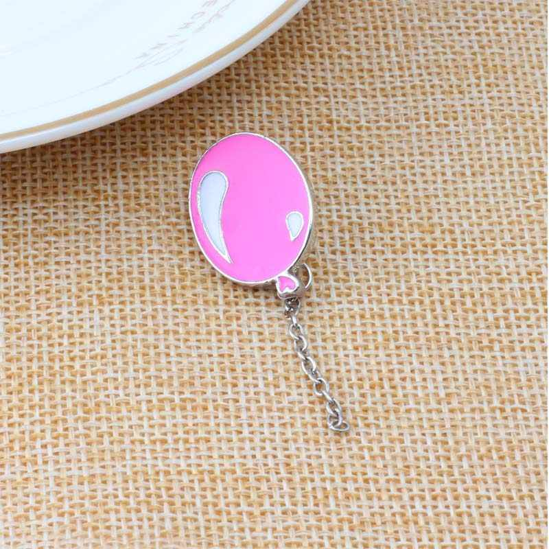 Lucu Kartun Bros Bunga Balon Geometri Jelly Gadis 5 Gaya Enamel Kemeja Bros Pin Kerah Denim Aksesoris Perhiasan