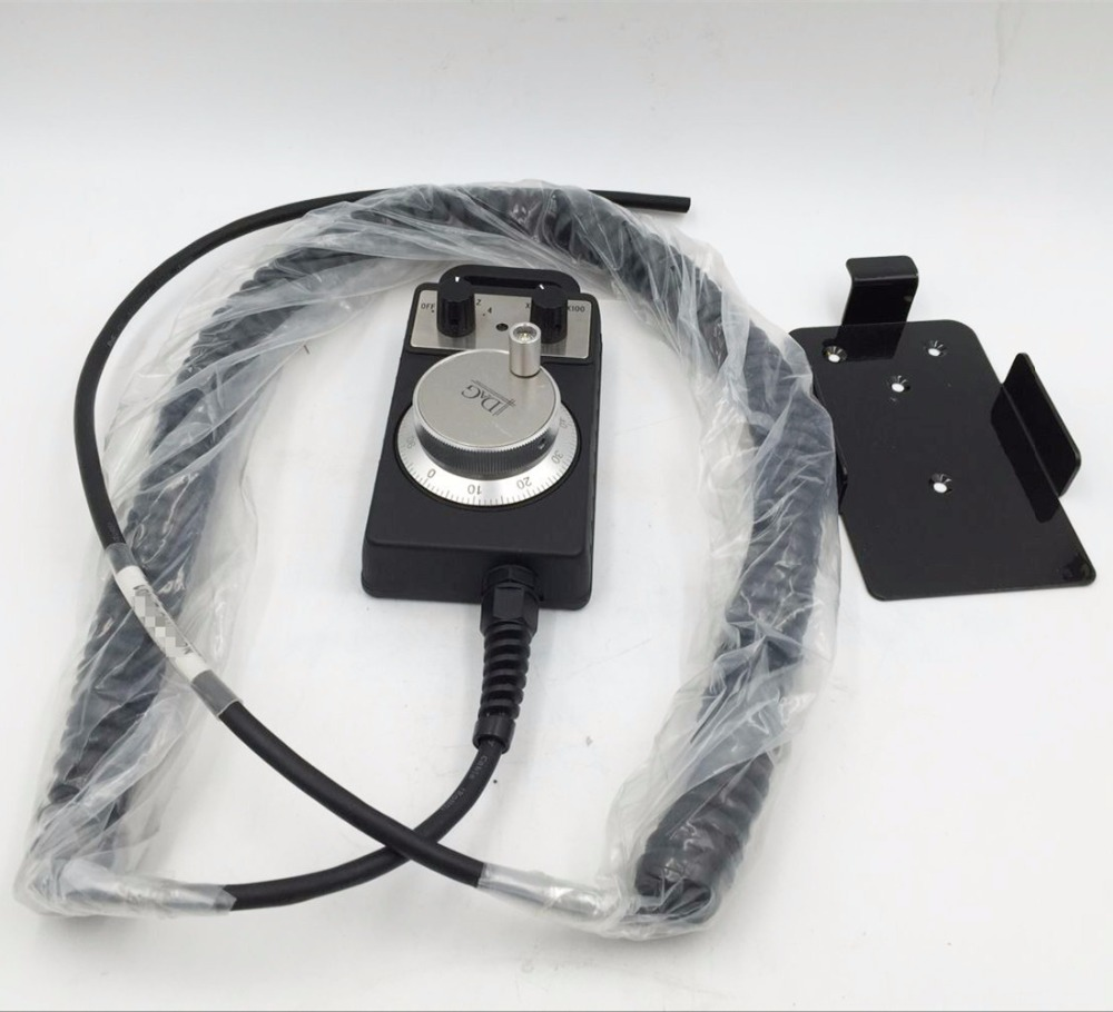 Handy Pulser MPG Handwheel 4 Axis 100ppr 5V-15V Manual Pulse Generator Fanuc FAGOR CNC System with Cable  цены