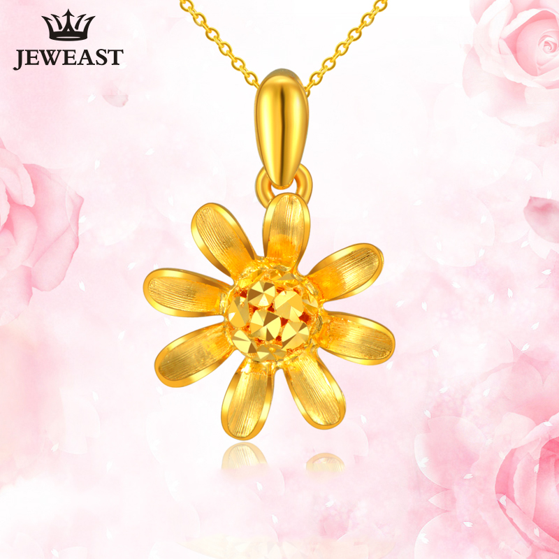 24K Pure Gold Pendant Real AU 999 Solid Gold Charm Beautiful Flower Upscale Trendy Classic Party Fine Jewelry Hot Sell New 201824K Pure Gold Pendant Real AU 999 Solid Gold Charm Beautiful Flower Upscale Trendy Classic Party Fine Jewelry Hot Sell New 2018