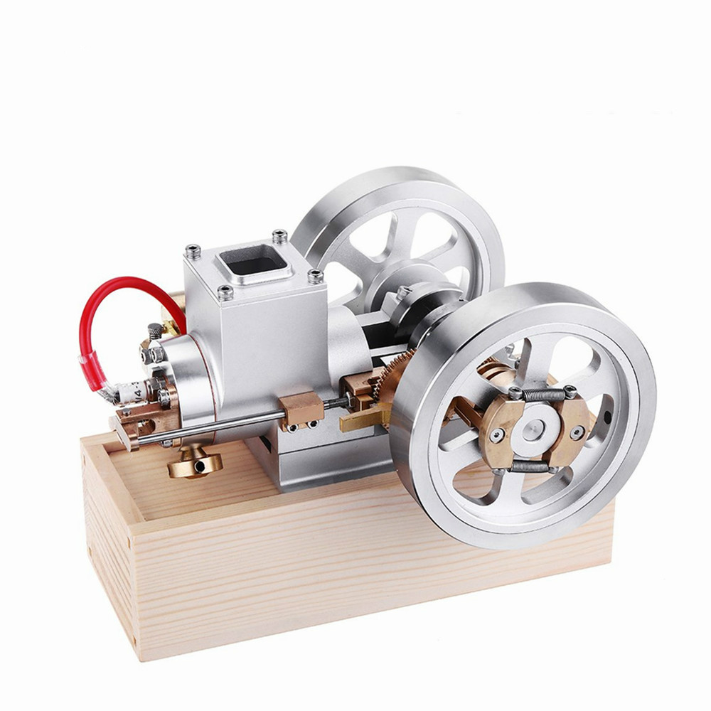 In Stock STEM Upgrade Hit Miss Gas Engine Stirling Engine Model Combustion Engine Collection DIY Project