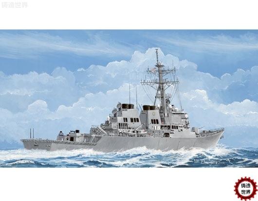 DIY Assemble Navy DDG - 04524 1/350 67 Cole Missile Destroyer Model Kits assemble ship model 78020 1 350 of world war ii navy destroyer snow wind