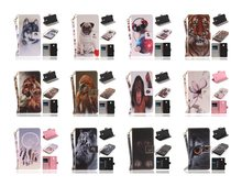 Wolf Owl Tiger Lion Dog Monkey Painted Flip Cover PU Leather Wallet Case For Nokia 3 Nokia 5 Nokia 6(China)