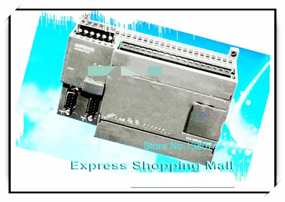 New 14 input 10 Relay output PLC CPU224R-24 replace S7-200 6ES7214-1BD23-0XB0 Support  original expansion module with 2PPI fx1n 40mr es ul fx1n plc cpu relay output computer interface 8000 steps program capacity 40 i o ports