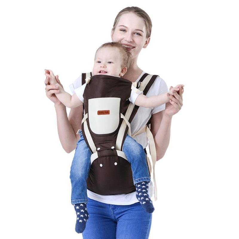 Baby Lab Beth Bear 0-30 Months Breathable Front Facing Baby Carrier 4 in 1 Infant Comfortable Sling Backpack Wrap Baby чехол для iphone 6s plus 6 plus с окошком для входящих вызовов с магнитной застежкой синий armor m