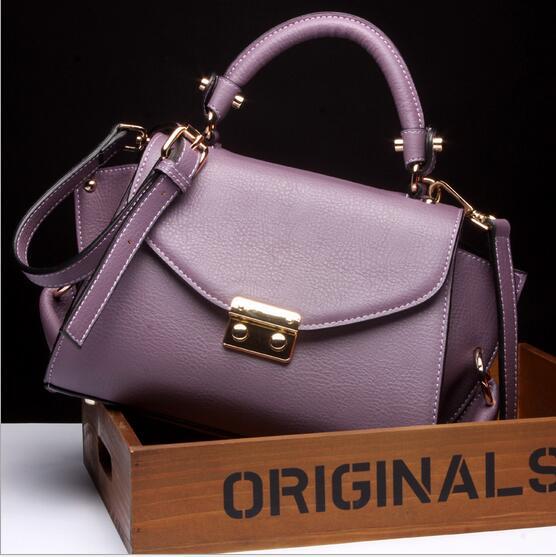 New Europe and the United States brands designer  fashionable Handbag welt pocket women Handbag Single shoulder bag. the original single in europe and america 2015
