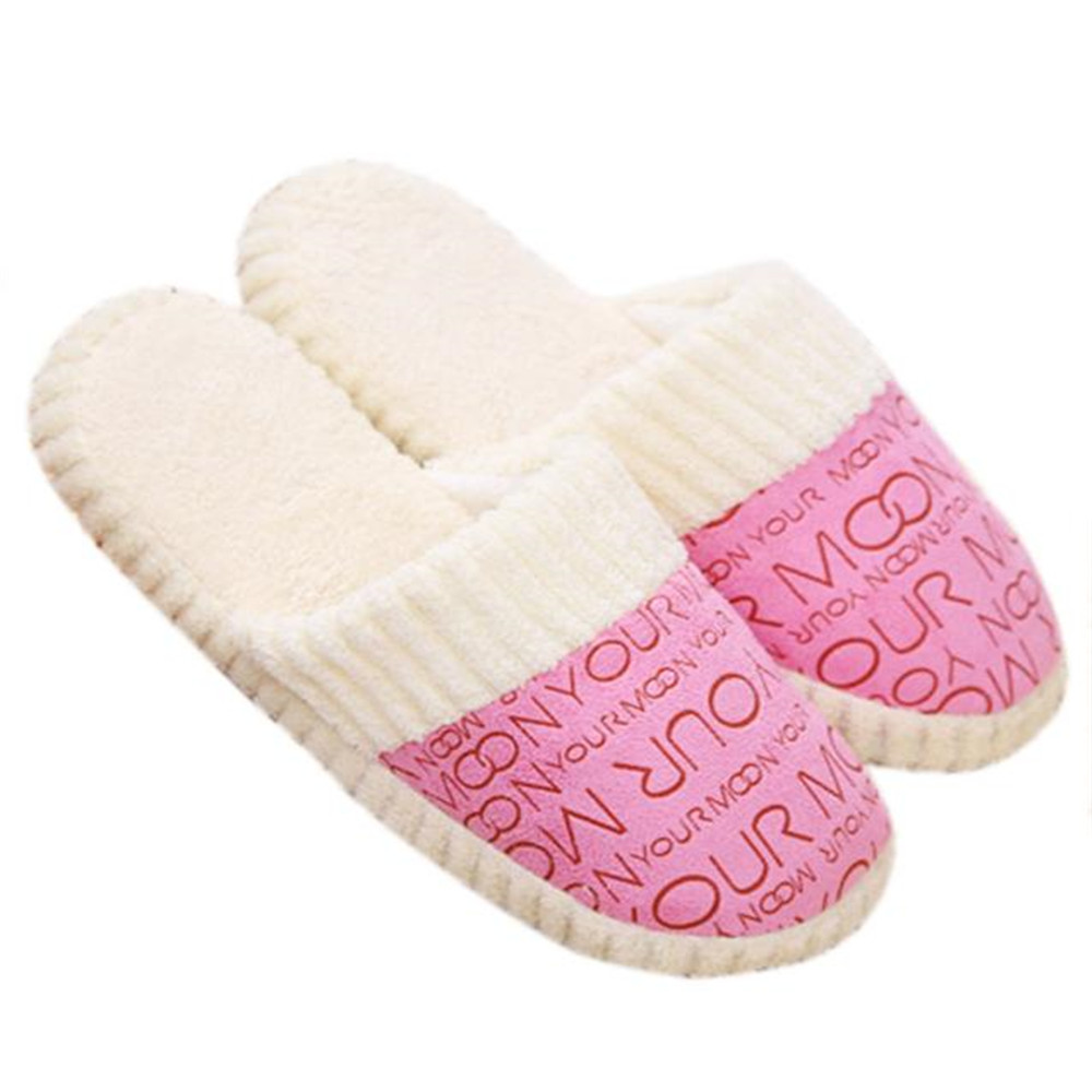 SAGACE 2018 Hot Fashion Autumn and Winter Warm Women Slippers Wearable cotton-padded Lovers at house soft Home indoor Slippers new autumn and winter warm men and women cotton padded lovers at house home slippers indoor shoes