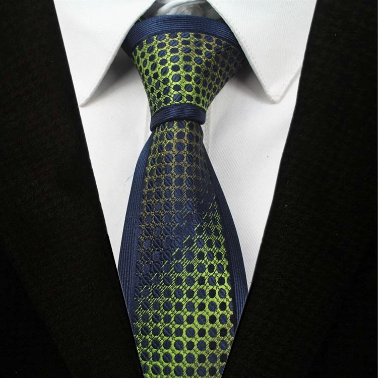 RBOCOTT Fashion Skinny Ties Men's 6cm Slim Tie Hand Sewing Casual Dot Plaid Striped Neck Ties For Men Wedding Party Corbatas