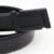 2016 Diseñador de La Marca de Moda Correa de cuero Genuina Masculina de Metal Negro Bukle Cinturón De Cuero Para Hombre de Color Sólido 105 cm de La Correa de La Cintura hombres