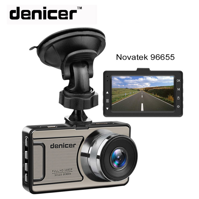 цена на 3 Car Dash Camera Vehicle Cam Full HD 1080P DVR 170 degree wide Angle in Car Video Recorder Dashboard Camera With Night Vision