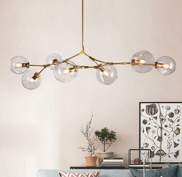 Lindsey Adelman Globe Branching Bubble Chandelier Ac110v 220v Modern Led Light Lighting High Quality For