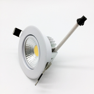 Image 2 - Angle Adjustable LED Dimmable Led downlight lighting COB 5w 7w 9w 12w Spot light 85 265V ceiling recessed Lights Indoor Lighting
