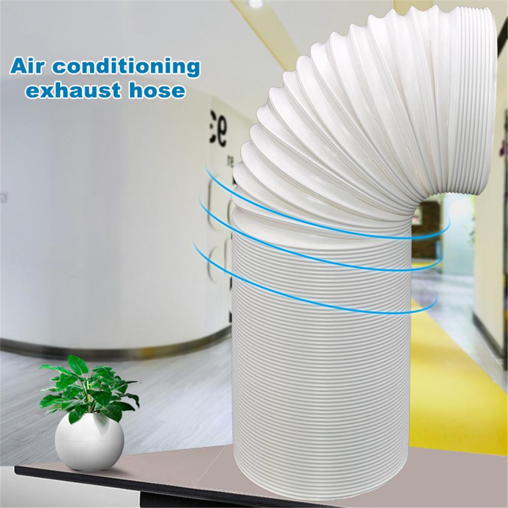1.5/2M Portable Flexible Air Conditioner Exhaust Pipe Vent Hose Duct Outlet Universal Threads Conditioner Hose Diameter 13/15CM