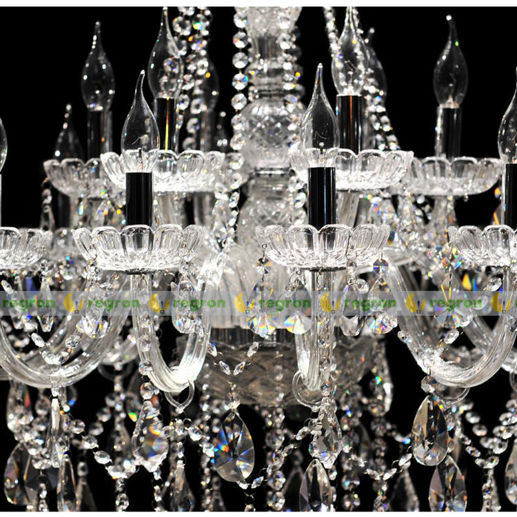 Buy Cheap Duplex Floor 30-head Modern Chandelier Lighting Crystal Lamp 1.5m Long Large Luxury Glass Chandelier Led Lamp Hall E14 Ceiling Lights & Fans Lights & Lighting
