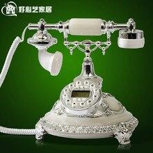 Good art RETRO European antique telephone landline new fashion Lily wind 8909