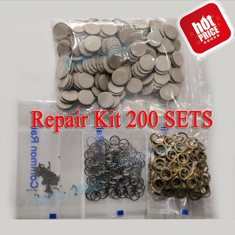 ERIKC Diesel Injector Valve Repair Kits F00VC99002 Steel Ball F00VC05001 Ceramic Ball F00VC05009 F00VC05008 Euro 5