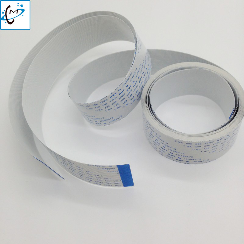 4PCS 3 5M long date cable for Mutoh VJ1604 VJ1614 1624 RJ900C Xenons DX5 mainboard data