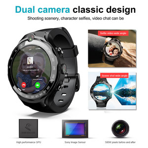 Image 2 - Lokmat 4g 5mp + 5mp 듀얼 카메라 스마트 시계 남자 안 드 로이드 7.1 mtk6739 1 gb + 16 gb 400*400 amoled 화면 gps wifi smartwatch for ios