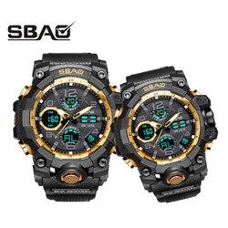 1 paar Armbanduhren Digitale Männer Frauen Sport Uhren Schwimmen Quarz Dual Display Uhr Für Männlich Weiblich G Stil