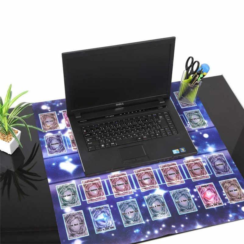 Резиновый мат 60x60 см Galaxy Стиль конкурс Pad Playmat для Yu-gi-oh карты Игровая Коллекция Подарочные карты для мальчиков D4