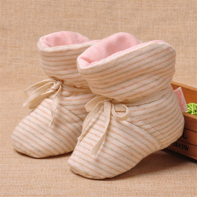 Lolita Girls Winter Baby First Walker Shoes Newborns Warm House Slipper Clothes New Year Children Home Slippers Loafers 70A1023