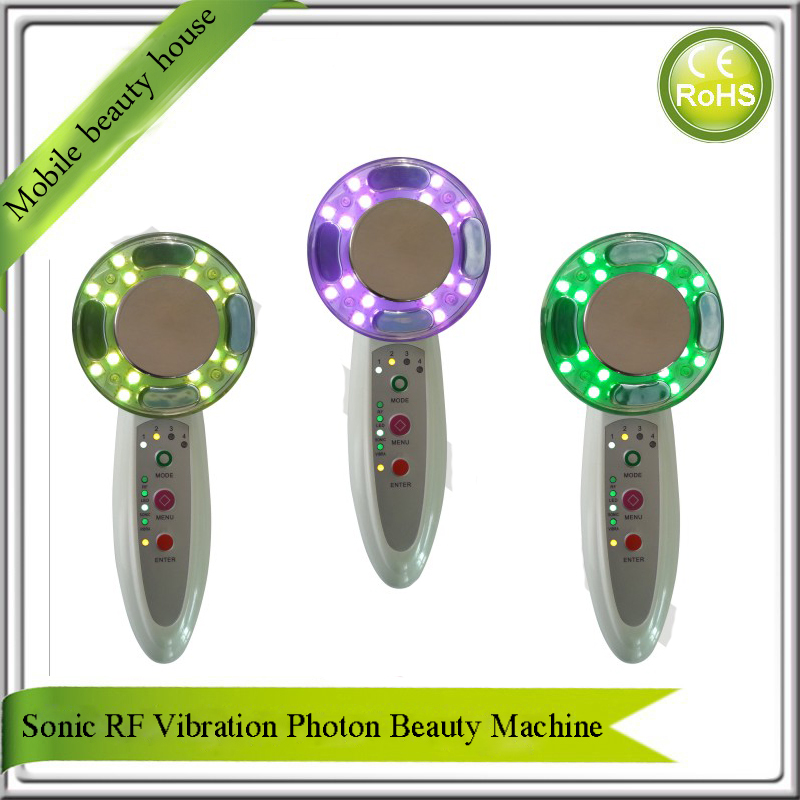 Portable Home Use Fractional RF Mesotherapy Photon Heating Skin Tightening Facial Rejuvenation And Body Beauty Slimming Machine portable home use led photon blue green yellow red light therapy beauty device for face and body skin rejuvenation firming