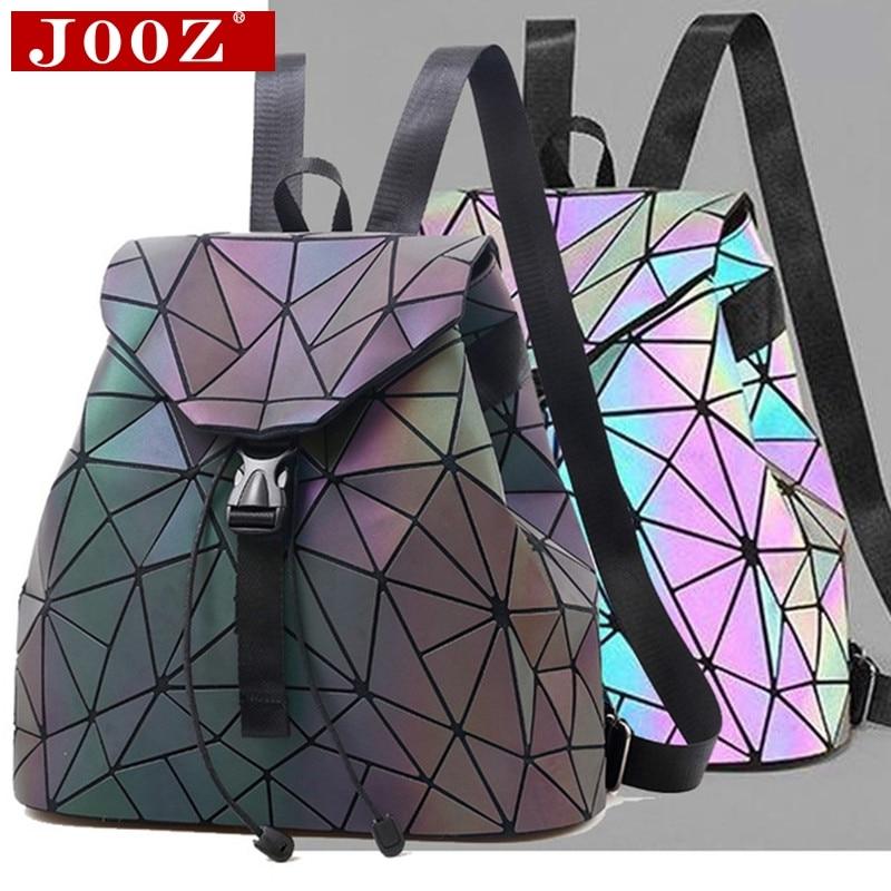 677993dd0ff2 Рюкзак с отражающими вставками шить решетки сумка для мужчин женщин рюкзак  для путешествий девушка школьная для