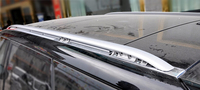 Hot selling aluminium alloy 2 pcs material black and sliver color roof rack for Ranger rover sport