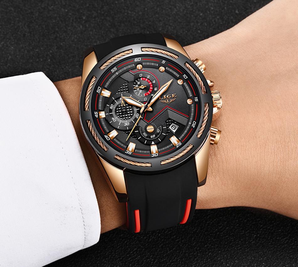 LIGE Reloj deportivo 10