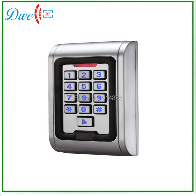 ФОТО Free shipping waterproof backlight keypad single door stand alone office access controller