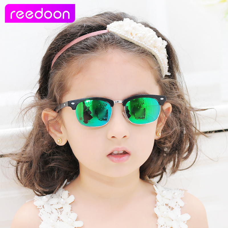 2a8e1d27978 2016 New Fashion Children Sunglasses Boys Girls Kids Baby Child Sun Glasses  Goggles UV400 mirror glasses Wholesale Price 2276-in Sunglasses from Mother  ...