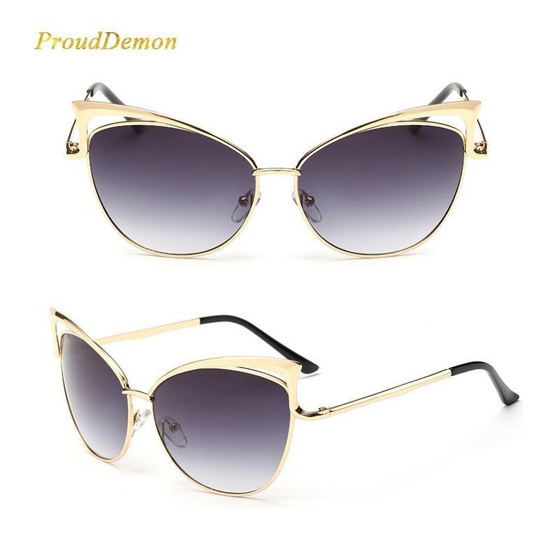 Nouveau Mode Cat Eye de luxe 2018 lunettes de Soleil Femmes Marque Designer  Double Faisceau Miroir Hommes Lunettes de Soleil Vintage Femme oculos de  sol ... a1798283919d