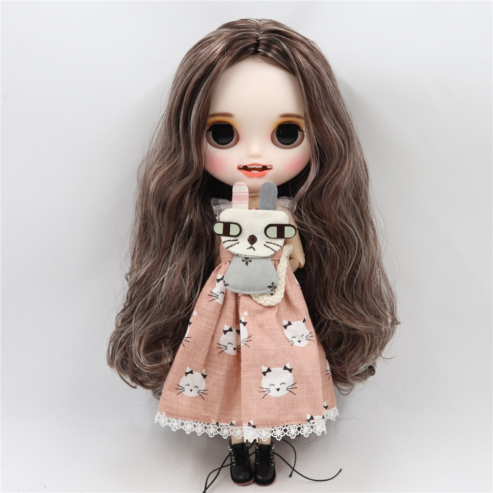 Evette - Premium Custom Blythe Doll with Smiling Face 3