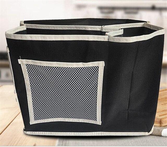 Sofá de pano de Oxford saco de armazenamento de tecido saco de armazenamento de cabeceira de armazenamento utensílios domésticos
