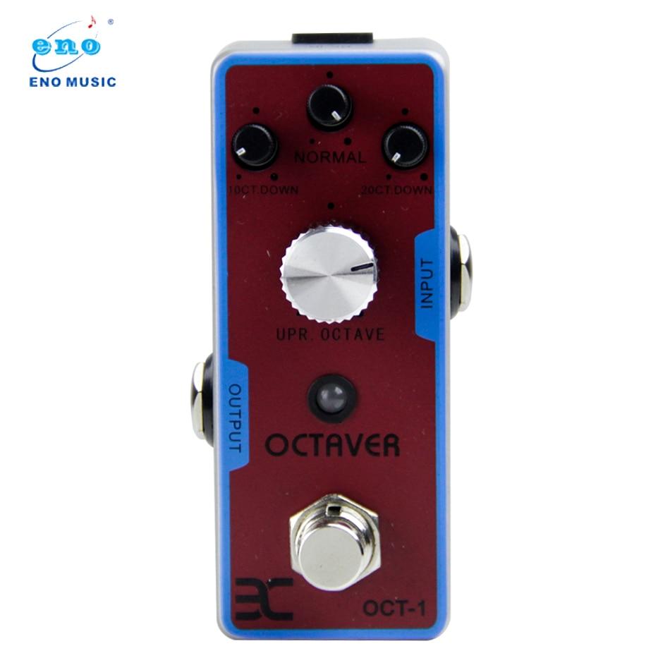 buy eno guitar pedal new effect guitar pedaloctaver tc 01 oct 1 octaver octave. Black Bedroom Furniture Sets. Home Design Ideas