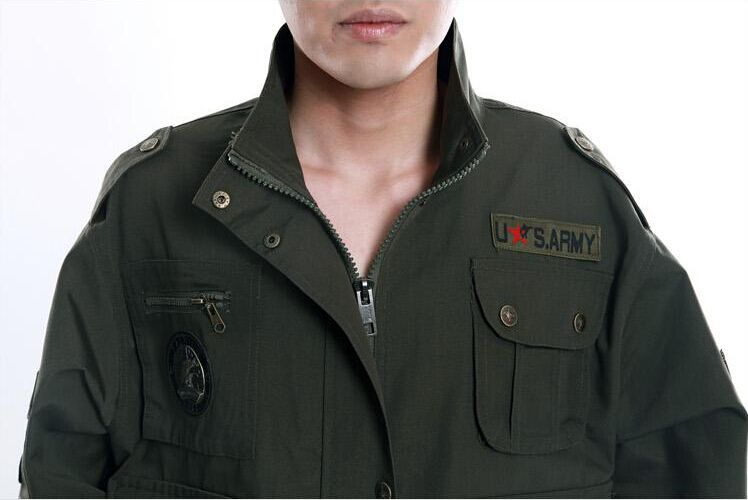 Military Eagle style 101 airborne division sets for men usa army suit sets fatigue dress jacket and pant