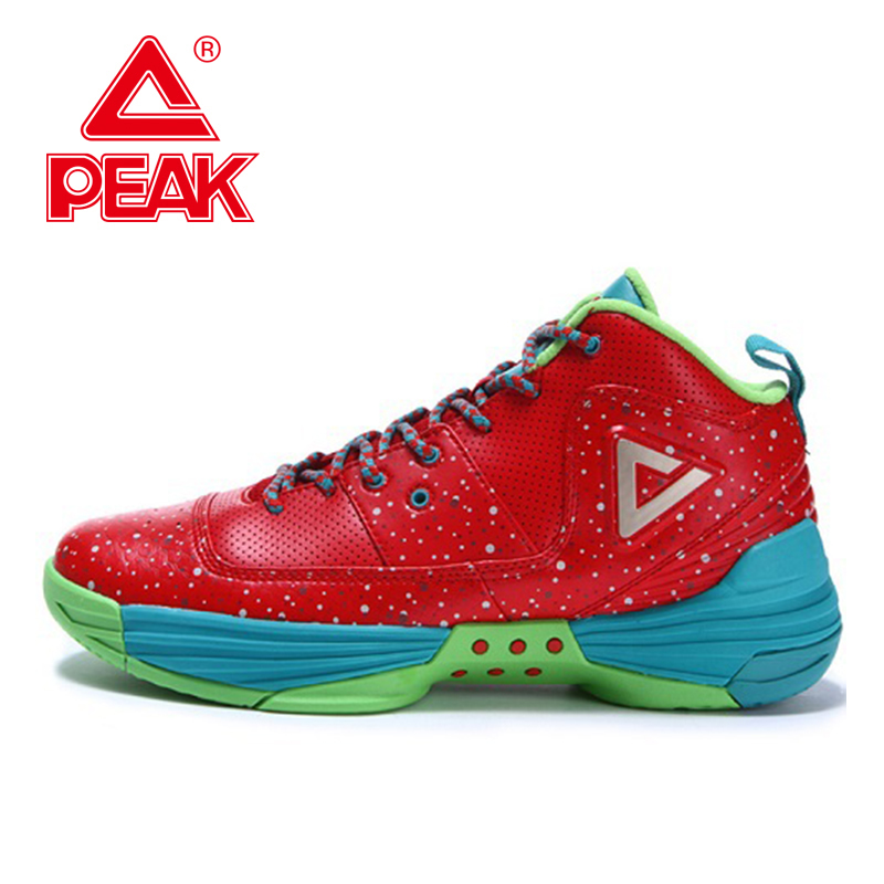 PEAK SPORT Monster II New Men Basketball Shoes FOOTHOLD Tech Sport Sneakers Breathable Non-Slip Training Athletic Boots EUR40-50 peak sport lightning ii men authent basketball shoes competitions athletic boots foothold cushion 3 tech sneakers eur 40 50