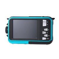 2.7 inch Dual TFT LCD Screen Waterproof 5M Digital Camera HD 24MP 1080P DV Camcorder 16X Digital Zoom