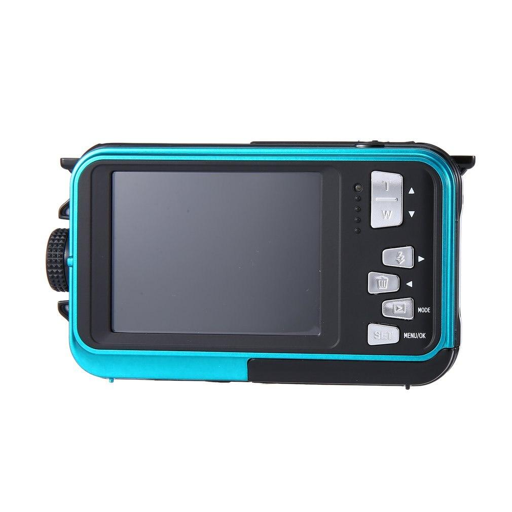 2.7 pouces double écran TFT LCD étanche 5M appareil photo numérique HD 24MP 1080P DV caméscope 16X Zoom numérique