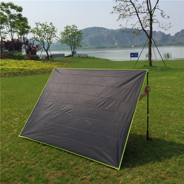 Hot Selling Oxford Fabric 2 People Waterproof Sunshade Shelter Tent CZX-171 footprint & Hot Selling Oxford Fabric 2 People Waterproof Sunshade Shelter ...