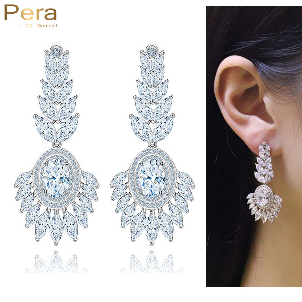 earrings drop prom itm long o diamond function multi statement shaped elegant