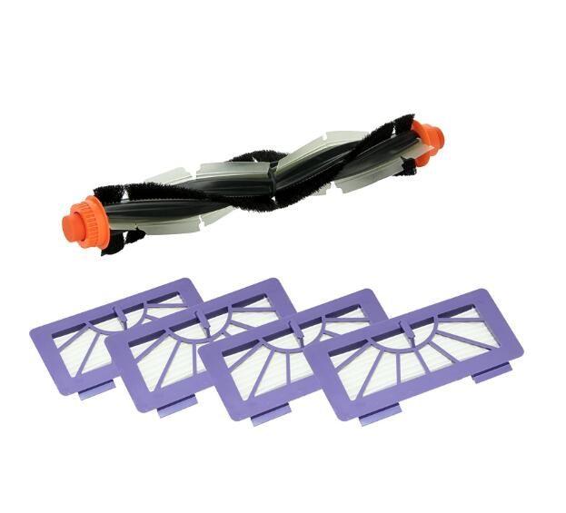 Vacuum Cleaner Replacement Straight Combo Brush and Hepa Filter Part for Neato XV Series XV11 XV12 XV14 XV21 цена и фото
