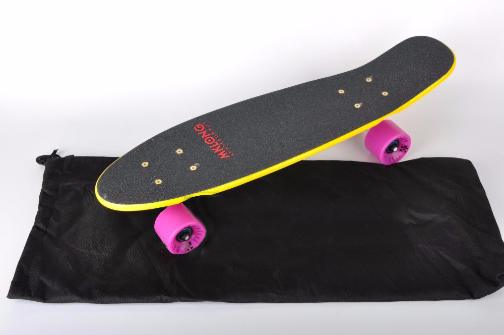 22 Inch Longboard Bag For Skateboard Carry Fits Peny Board 27 To Long Mini Cruiser Backpack Van In Skate From Sports