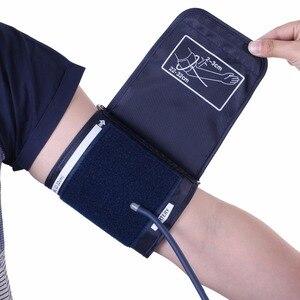 Image 4 - Jziki液晶デジタル自動アーム血圧モニター眼圧計メーター血圧計ポータブルtensiometroカフ健康パートナー