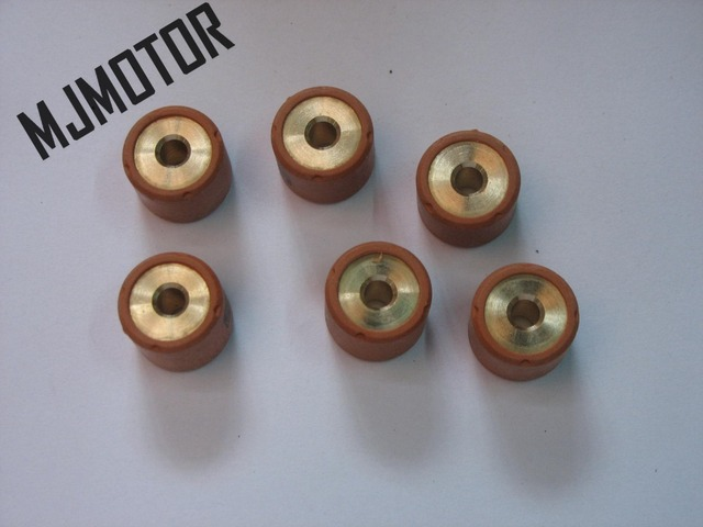 KOSO High Performance Variator Copper Rollers For Chinese 150cc GY6 152QMI Engine Scooter QJ Keeway Suzuki ATV Part / M18X14