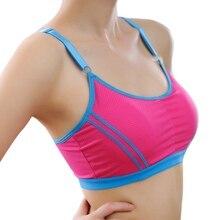 Outdoor Women Adjustable Sports Bra Seamless Breathable Push Up Leisure Tank Tops Yoga Bras