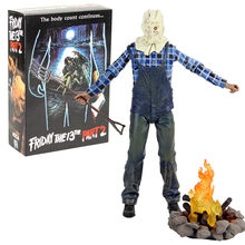 NECA Jason Voorhees Friday the 13th Part 2 PVC Action Figure Collectible Modelo Toy(China)