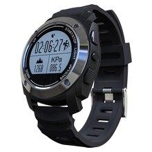 S928 GPS Deportes Al Aire Libre IP66 Impermeable de La Vida con Monitor de Ritmo Cardíaco Reloj Inteligente de Presión para Android 4.3 ios 8.0