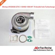 Mertop обновление GT45 V полоса Турбокомпрессор турбокомпрессора 1000 hp способен T4 большой